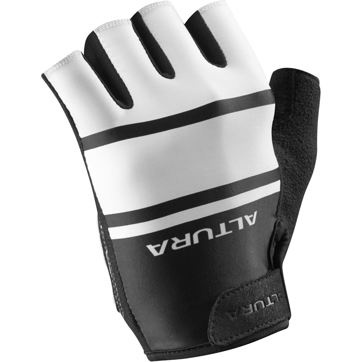 Altura Airstream 2 Mitts - L White/Black | Short Finger Gloves