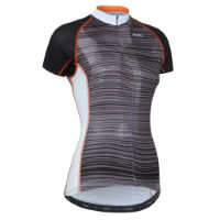 Primal Womens Maveric Evo Jersey  Orange/Black  S