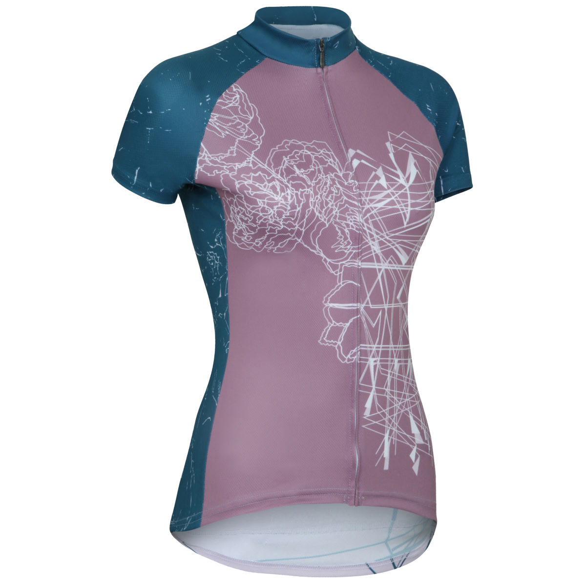 Maillot Femme Primal Bedlam (coupe sportive) - 2XL Purple/Blue
