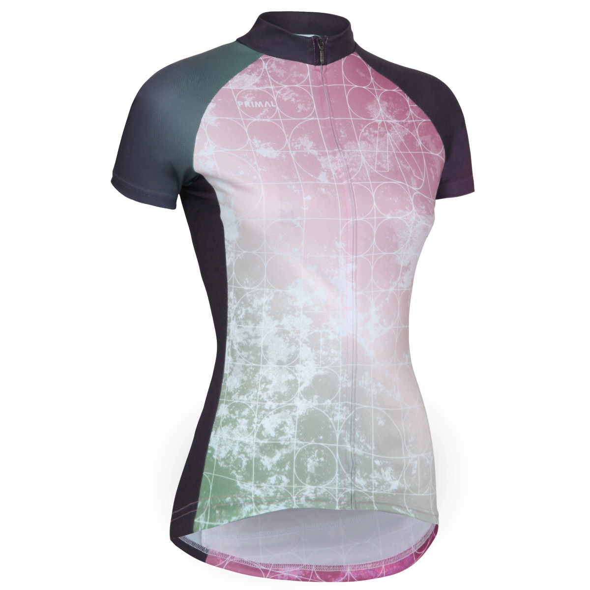 Maillot Femme Primal Nebula (coupe sportive) - L Multi Coloured