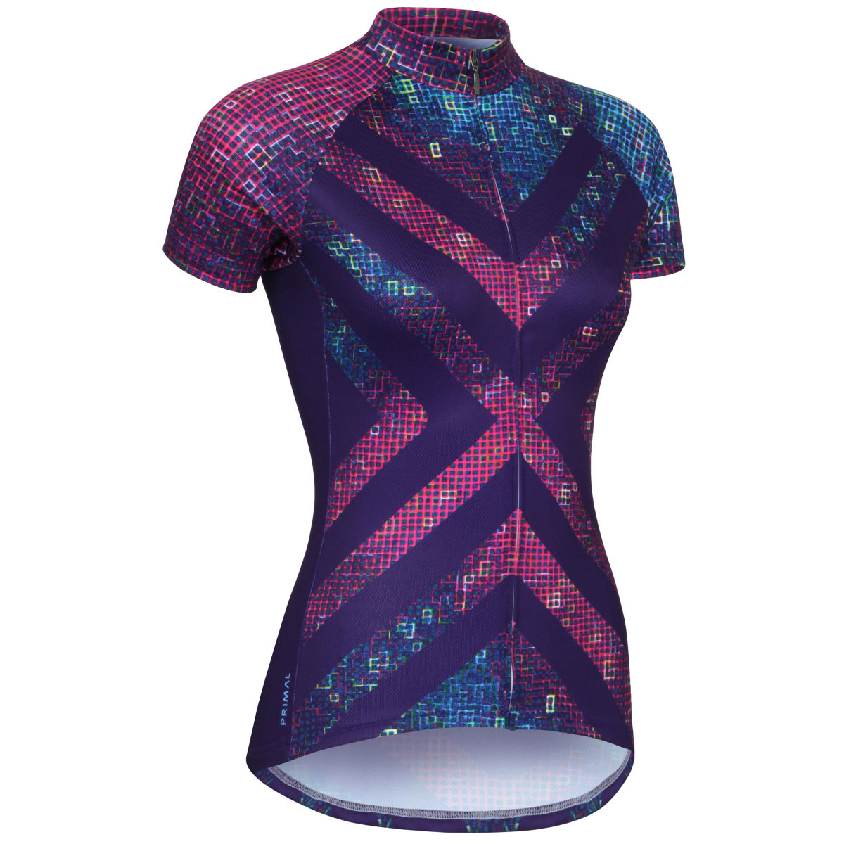 Maillot Femme Primal Pixel8 (coupe sportive) - 2XL Multi Coloured