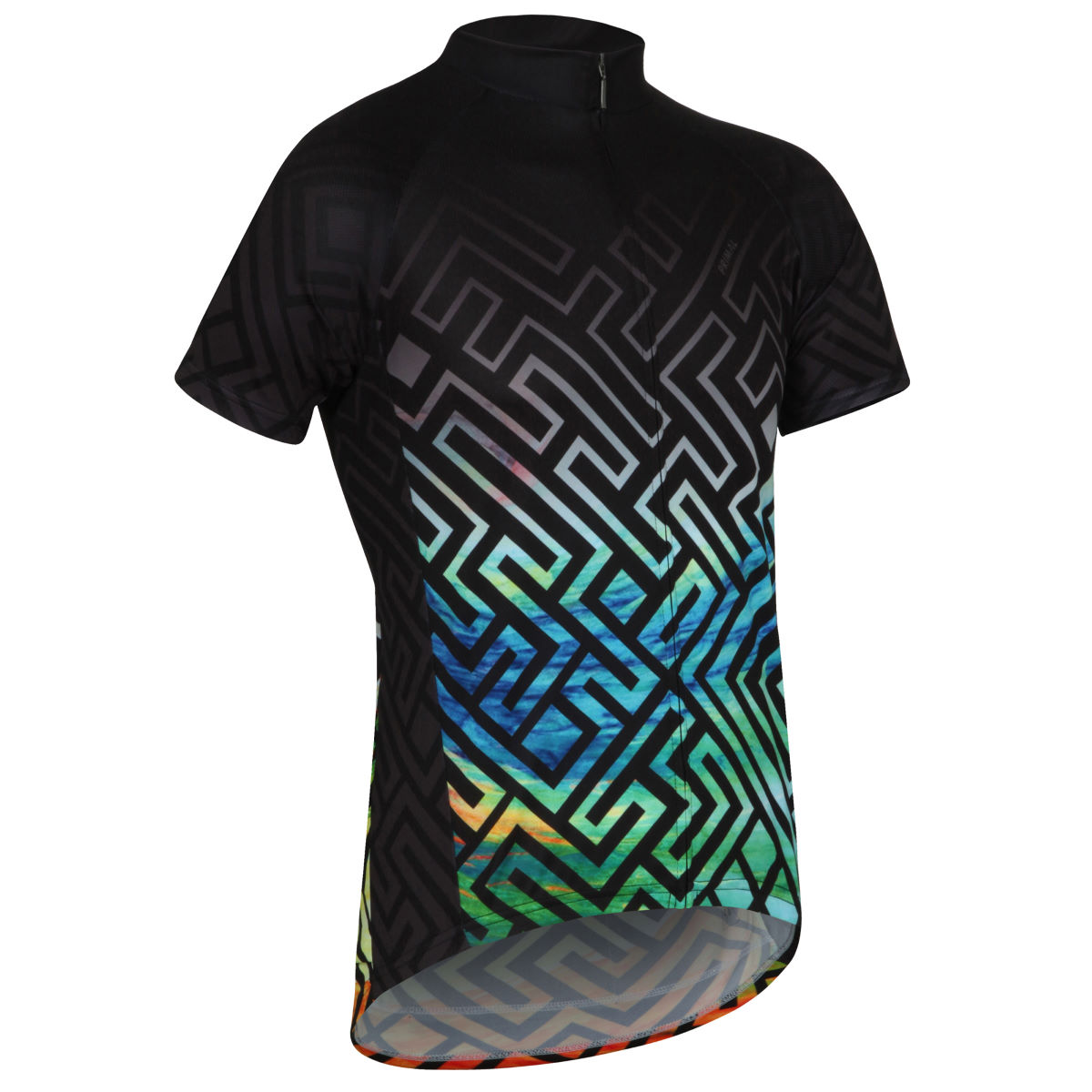 Maillot Primal Labrynth Sport Cut - M Multi Coloured