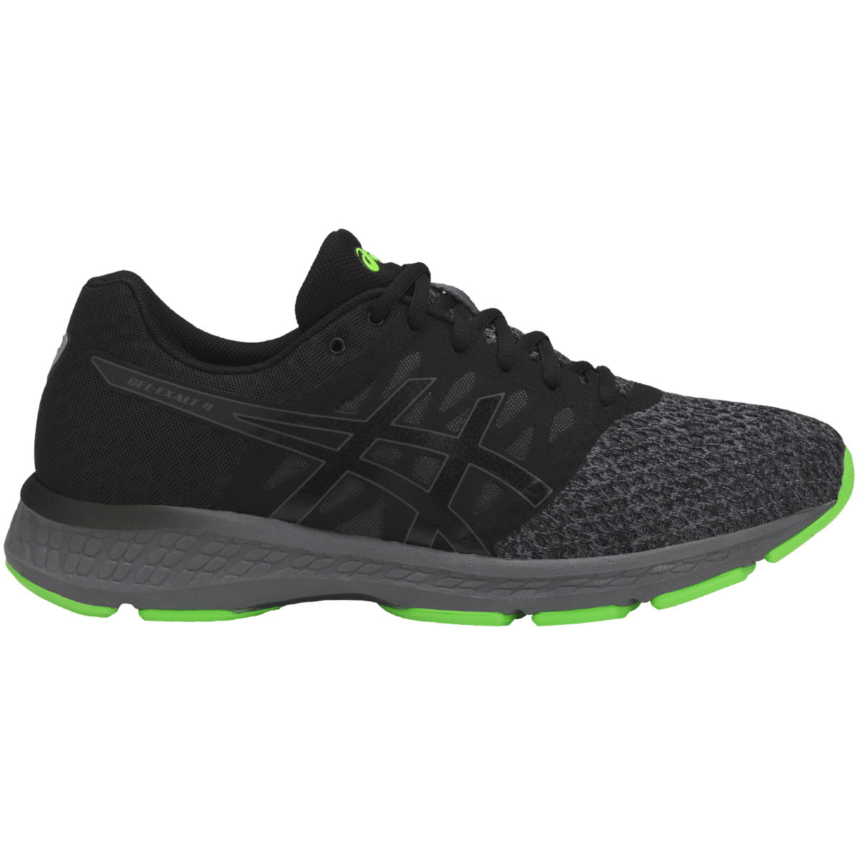 Chaussures Asics Gel-Exalt - UK 7 BLACK/CARBON/GREEN G