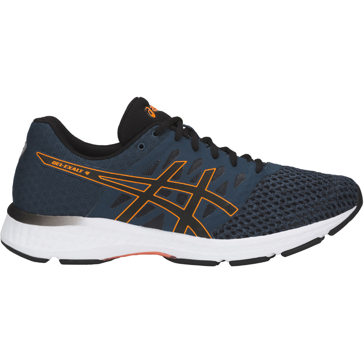 Chaussures Asics Gel-Exalt - UK 7.5 DARK BLUE/BLACK/SHOC