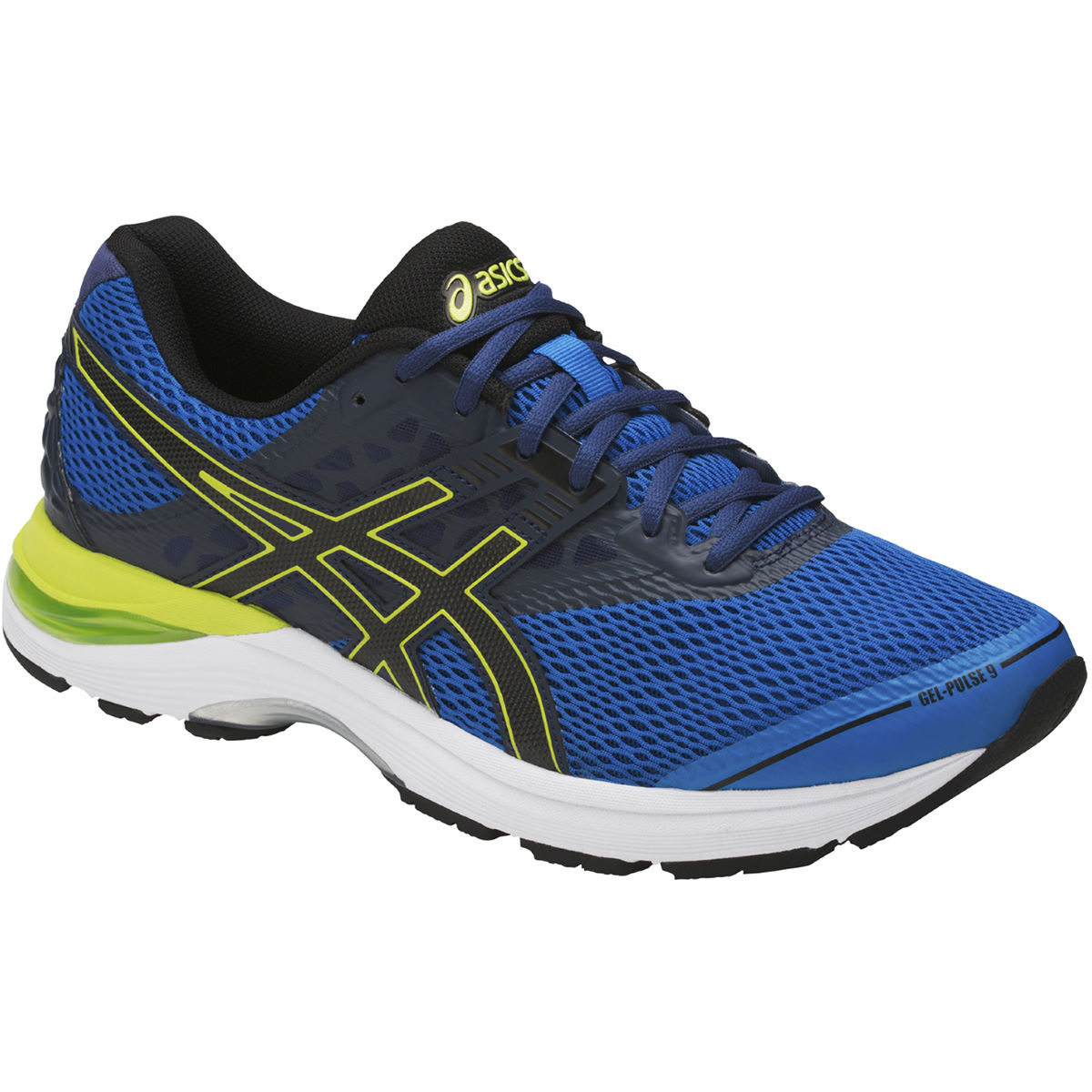 Chaussures Asics Gel-Pulse 9 - UK 11 Directoire Blue/Blac
