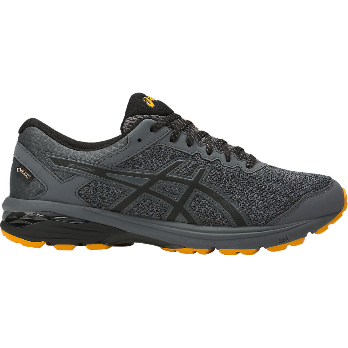 Chaussures Asics GT-1000 6 GTX - UK 11 Carbon/Black/Gold Fu