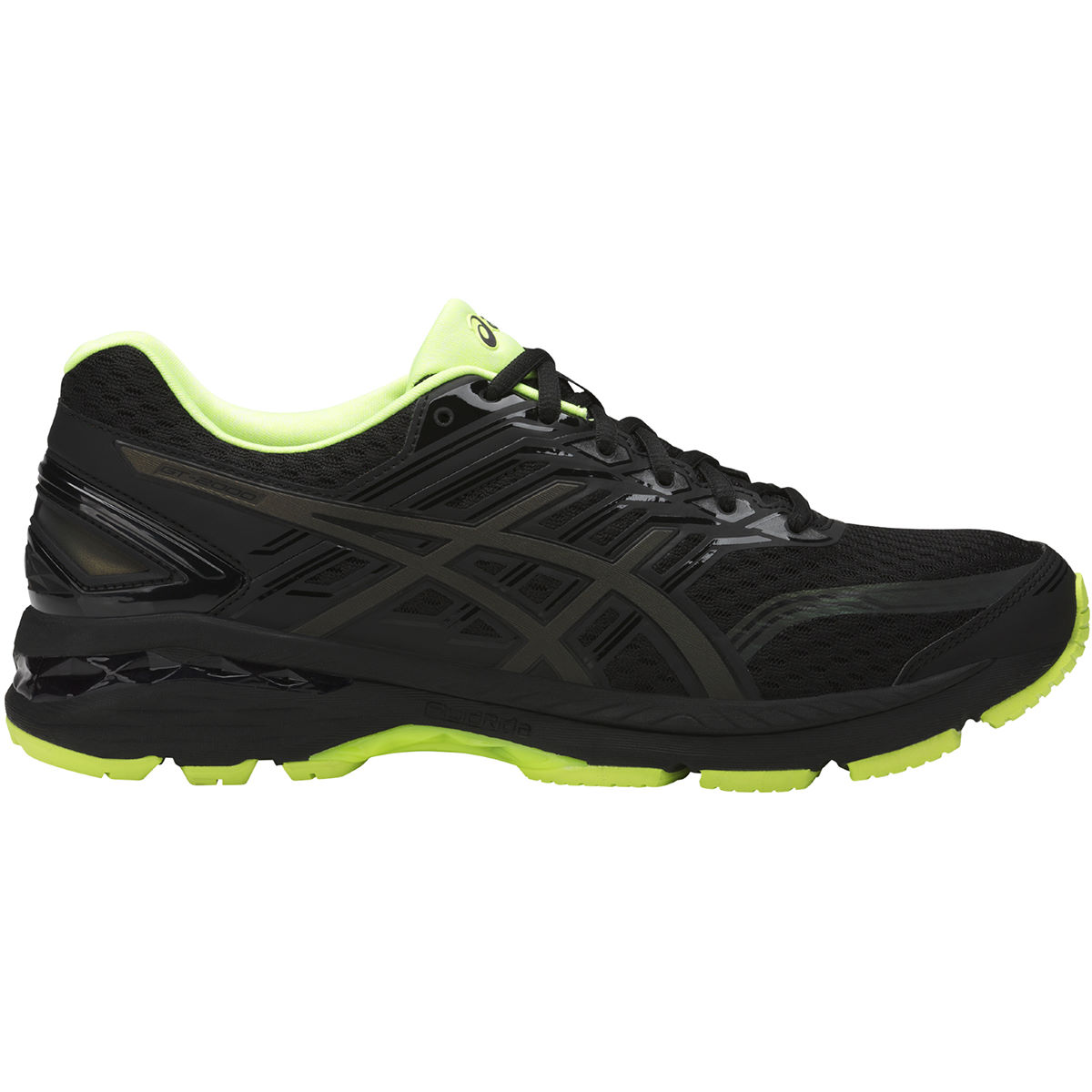 Chaussures Asics GT-2000 5 Lite-Show - UK 11 Black/Safety Yellow/