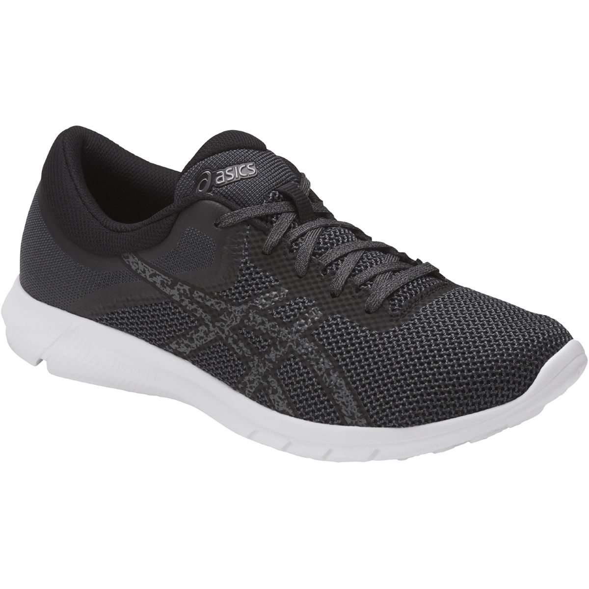 Chaussures Asics Nitrofuze 2 - UK 7 Black/Carbon/White