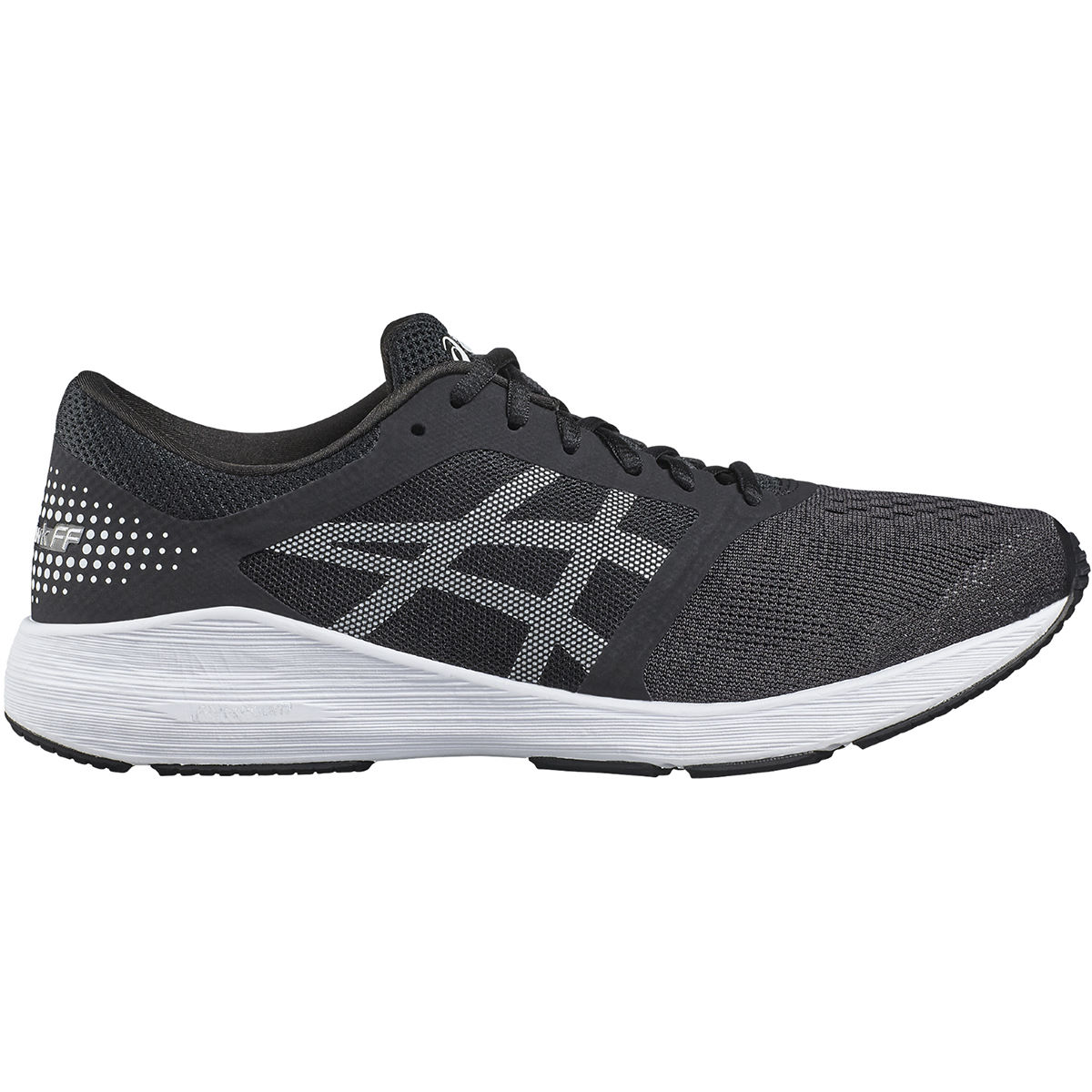 Chaussures Asics Roadhawk FF - UK 11 Black/White/Silver