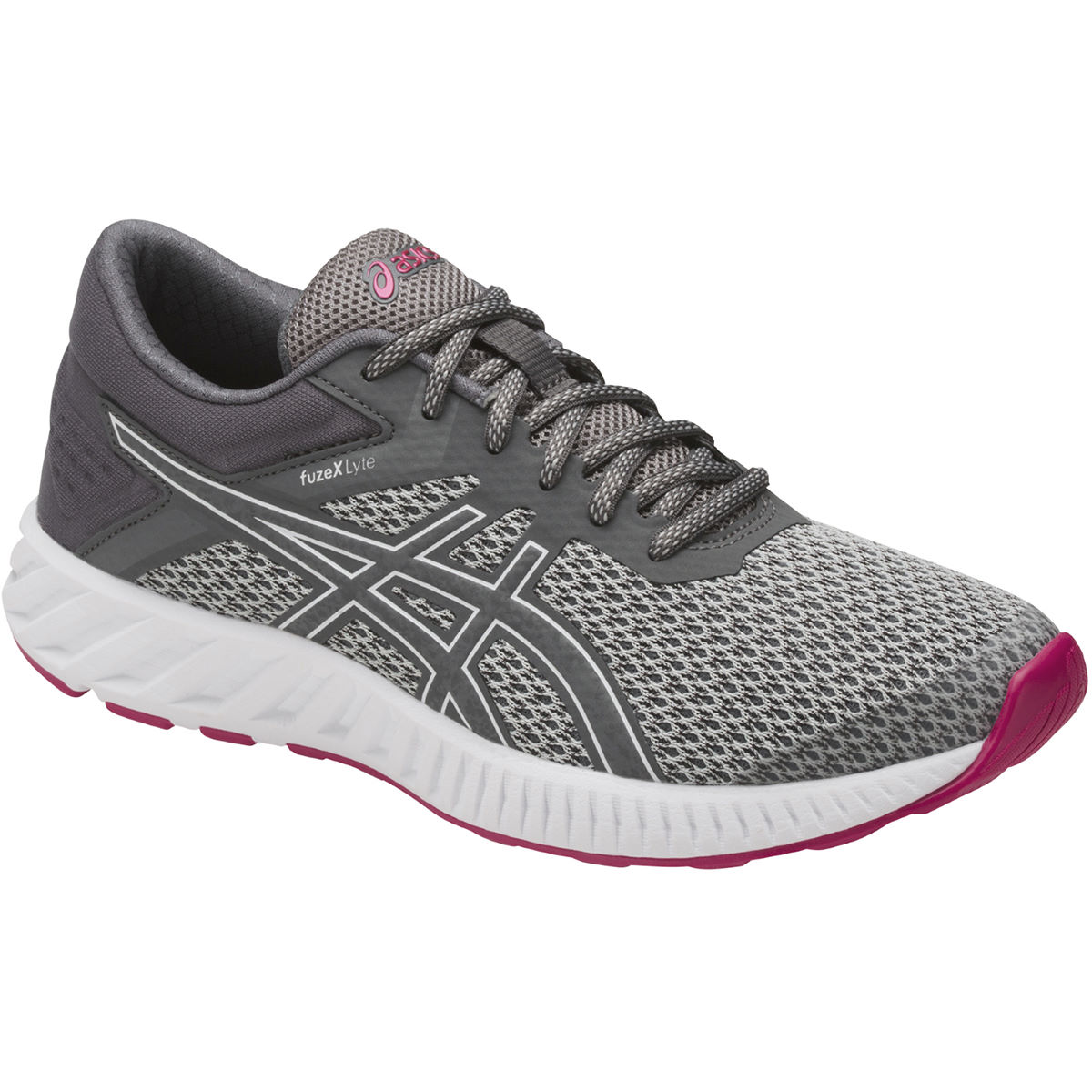 Chaussures Femme Asics Fuze X Lyte 2 - UK 4 Mid Grey/Carbon//Cos