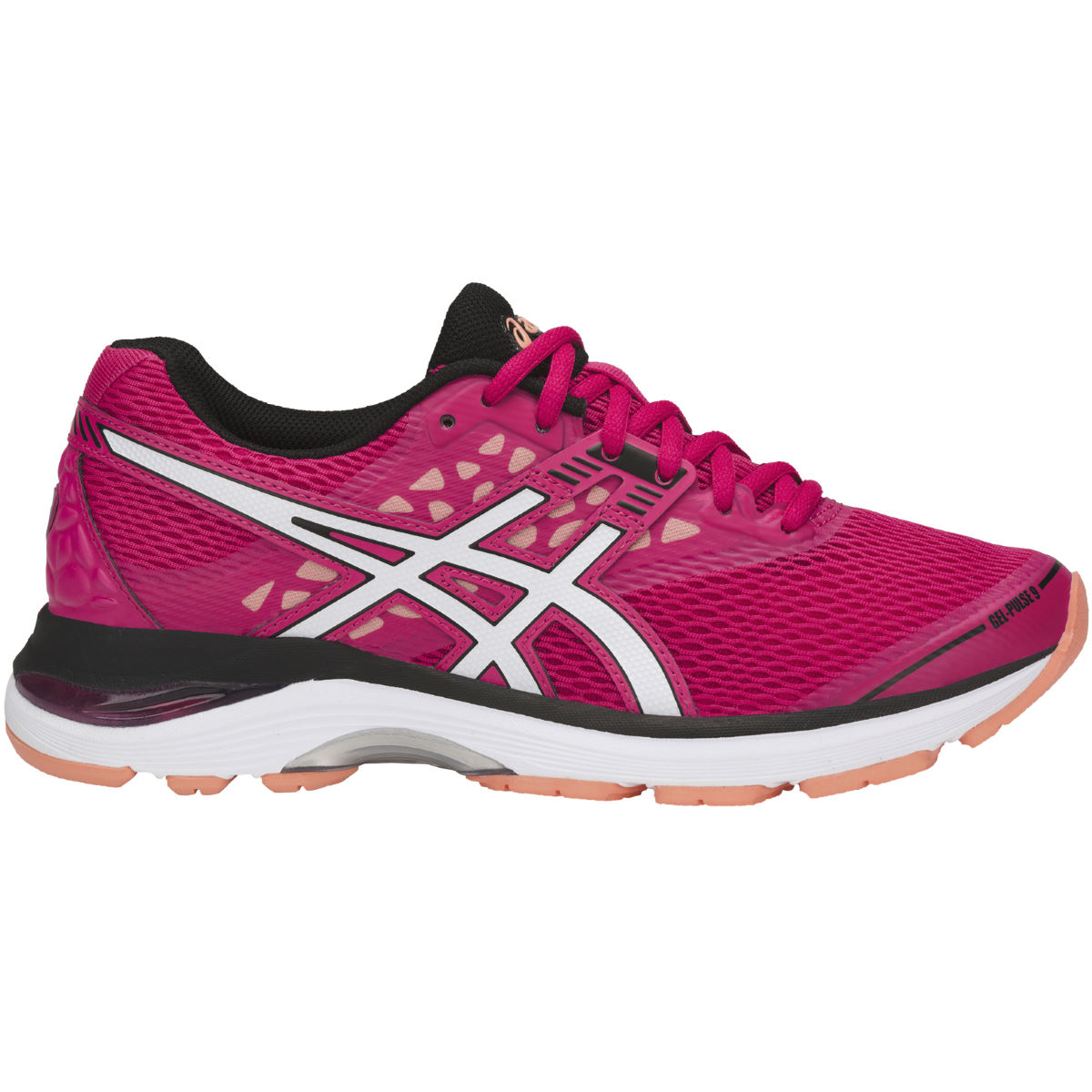 Chaussures Femme Asics Gel-Pulse 9 - UK 6 BRIGHT ROSE/WHITE/BL