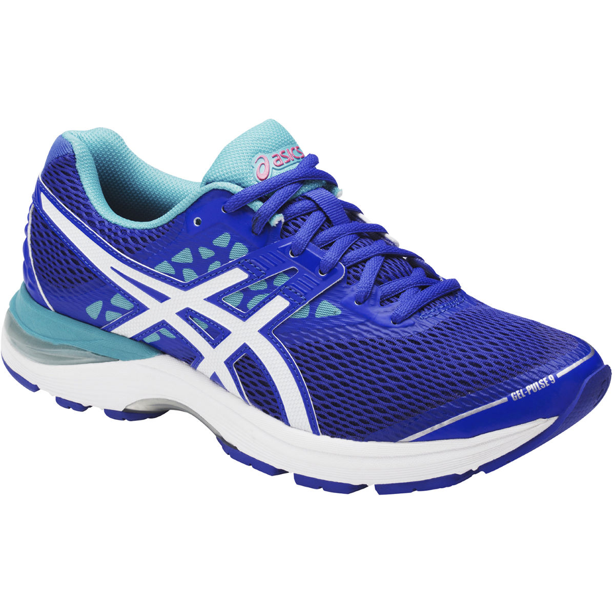 Chaussures Femme Asics Gel-Pulse 9 - UK 6 Blue Purple/White/Aq