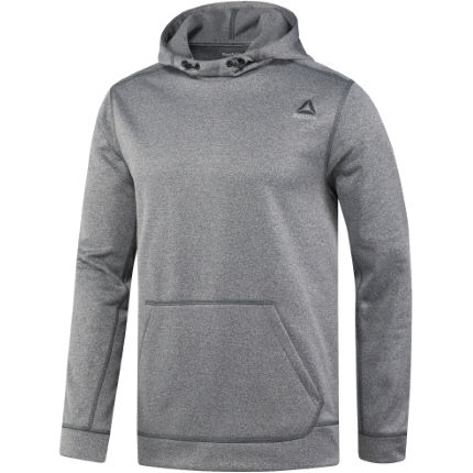 Reebok Workout Ready Poly Fleece Tech Gym Hoodie