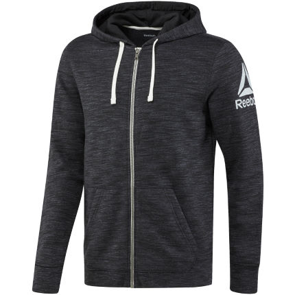 Reebok Elements Prime Group Full Zip Gym Hoodie