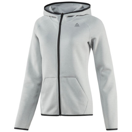 Reebok Women's Quik Cotton Full-Zip Gym Hoodie