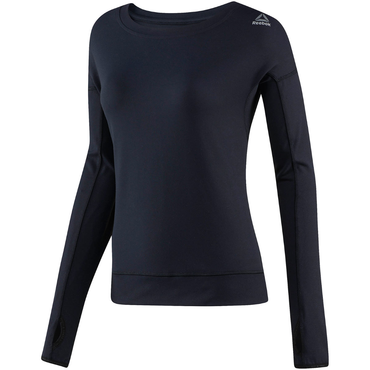 Reebok Women's Speedwick Gym Crew - XL Black