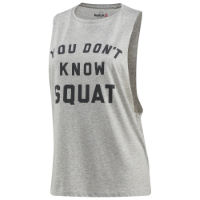 Reebok Womens Dont Know Squat Gym Tank