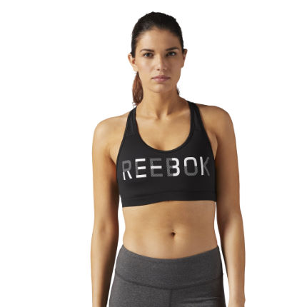 Reebok Women's WOR Medium Support Gym Bra