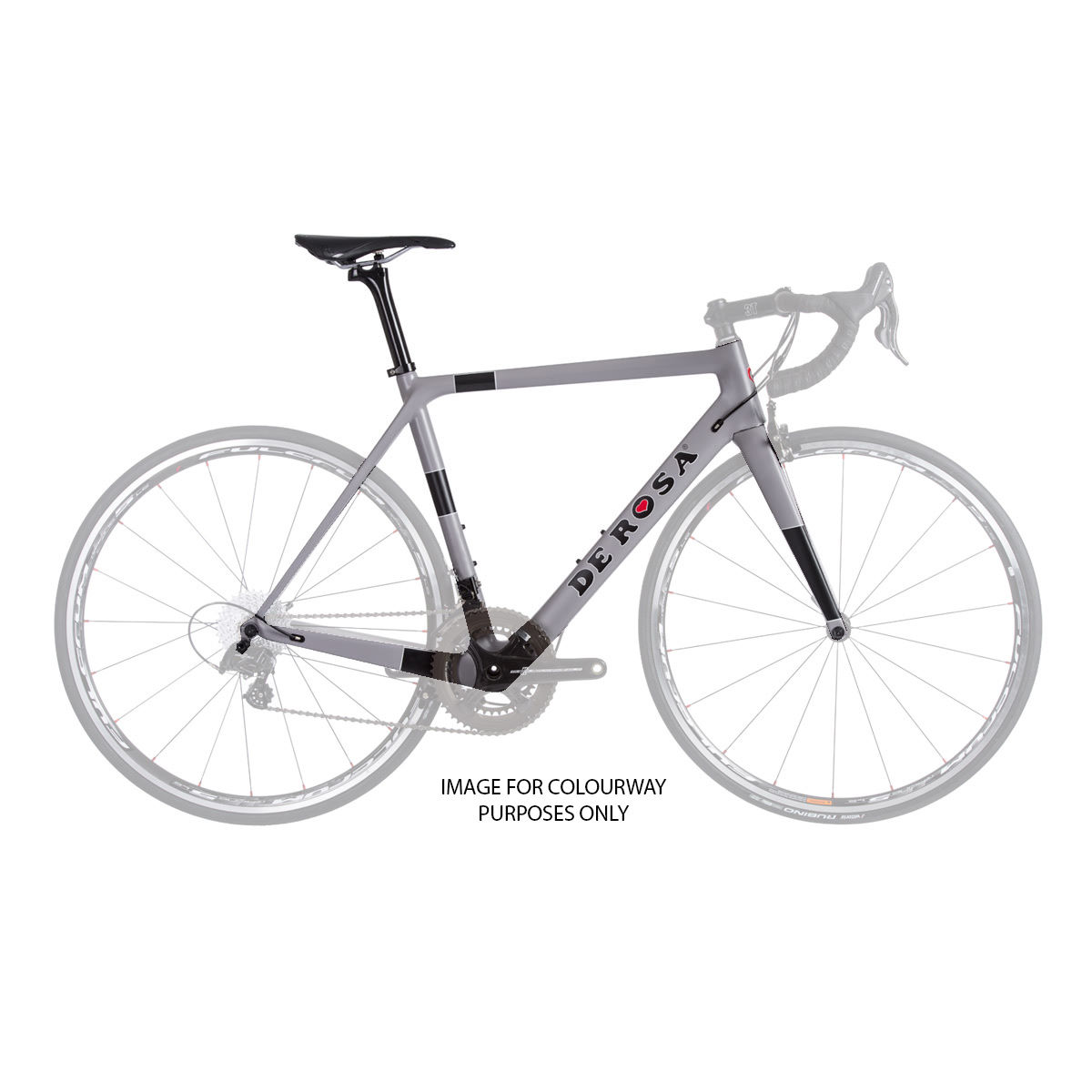 Vélo de route De Rosa King XS (Super Record, 2017) - 49cm Stock Bike Gris Vélos de route