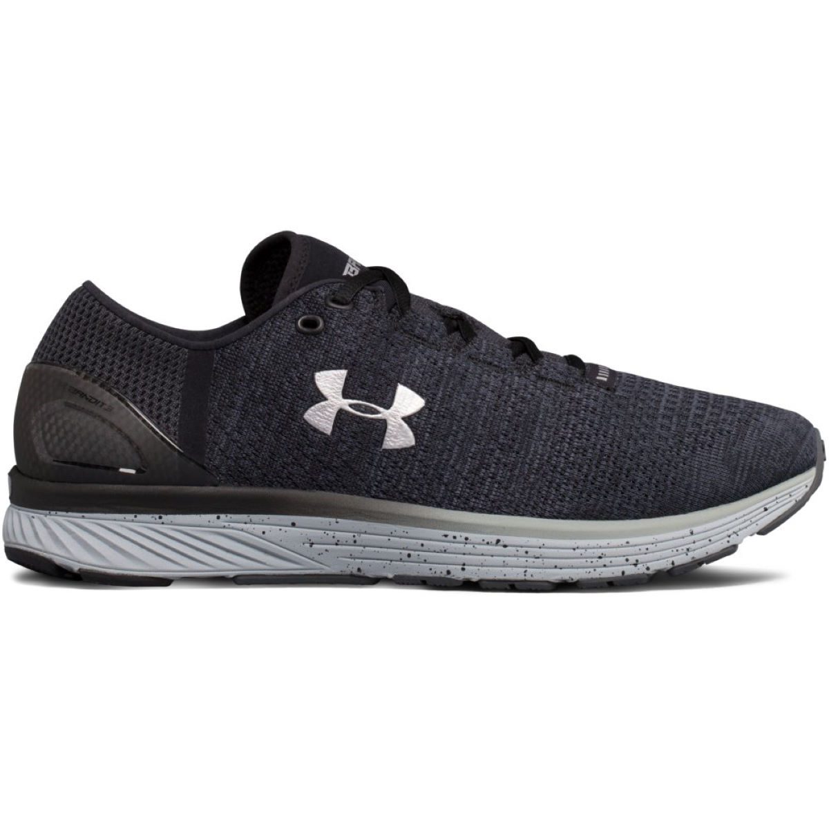Chaussures Under Armour Charged Bandit 3 Run - UK 13 STEALTH GRAY