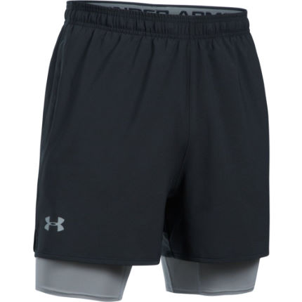 Under Armour Qualifier 2-in-1 Gym Short