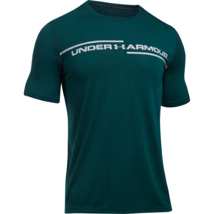 Under Armour Threadborne Cross Chest Kortärmad träningströja - Herr