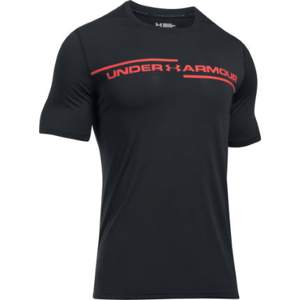 Under Armour Threadborne Cross Chest SS Gym Tee