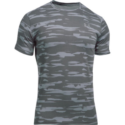 Under Armour Threadborne hardloopshirt (netstof, korte mouwen)