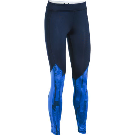 Under Armour Women's ColdGear Armour Graphic Part Gym Legging