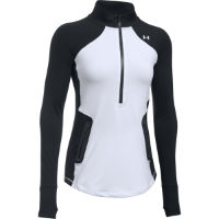 Under Armour Womens ColdGear Reactor 1/2 Zip Gym Top