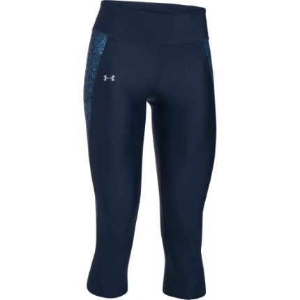 Under Armour Fly By Printed Capri Laufhose Frauen