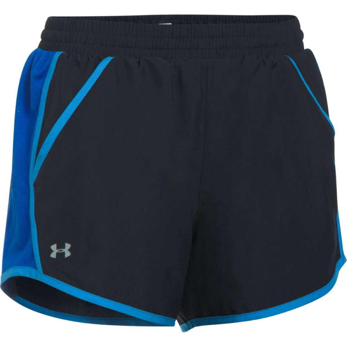 Short Femme Under Armour Fly By - XS Black/Lapis Blue