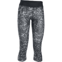 Under Armour Womens HG Armour Printed Capri Gym Tight