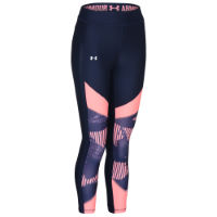 Under Armour Womens HG Colour Blocked Crop Gym Tight