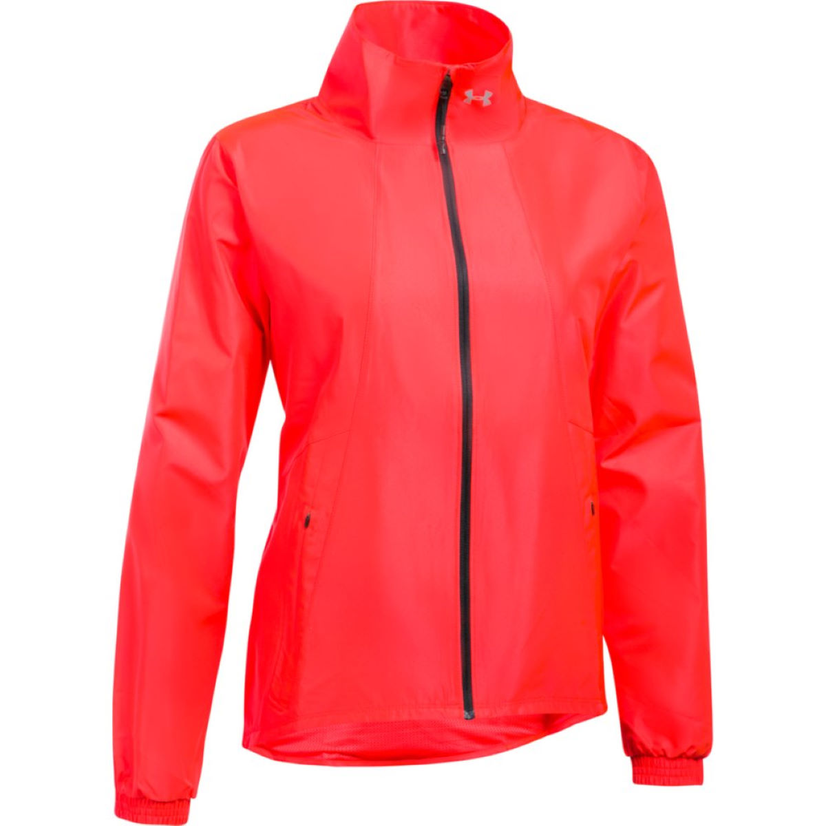 Under Armour Women's International Run Jacket - XS Marathon Red Vestes de running coupe-vent
