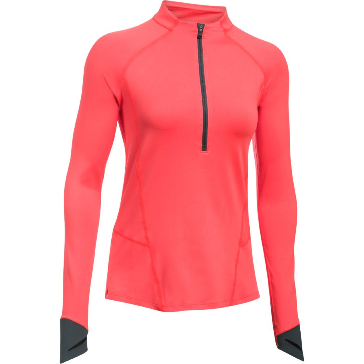Under Armour Women's Run True Half Zip Top - XS Marathon Red Hauts de running à manches longues