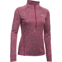 Under Armour Tech Twist sporttrui voor dames (korte rits, lange mouwen)