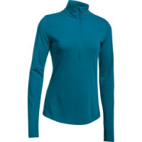 Camiseta de manga larga Under Armour Threadborne Streaker Run Half Zip para mujer