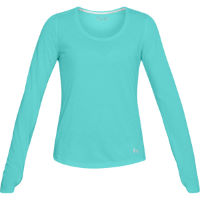 Camiseta de manga larga Under Armour Threadborne Streaker Run para mujer