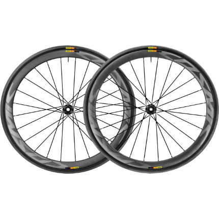 Paire de roues Mavic Cosmic Pro SL (carbone, disque, WTS, Center Lock)