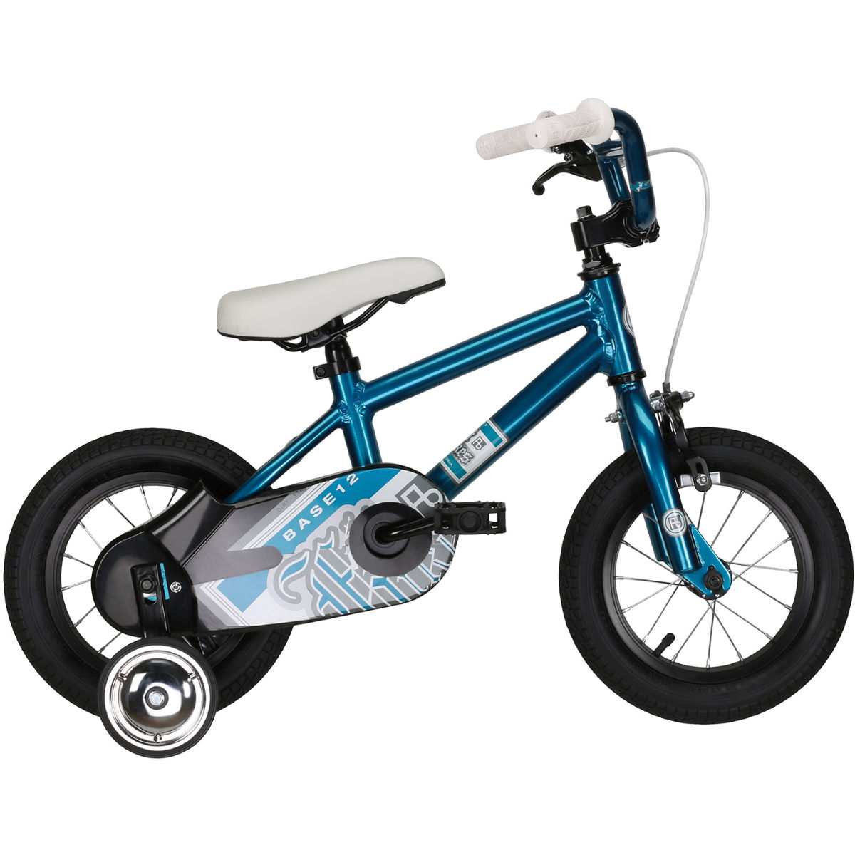 Vélo Enfant Felt Base 12 - 12'' Stock Bike Nickel Cyan