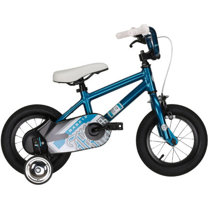 Felt Base 12 Kids Bike Blue/Silver One Size Stock Bike
