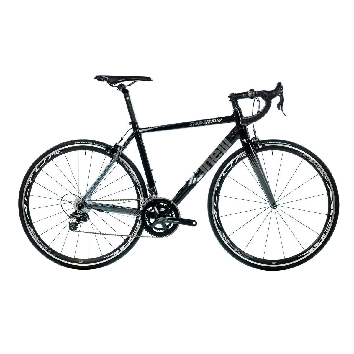Vélo de route Cinelli Strato (Potenza, 2017) - XL Stock Bike Noir