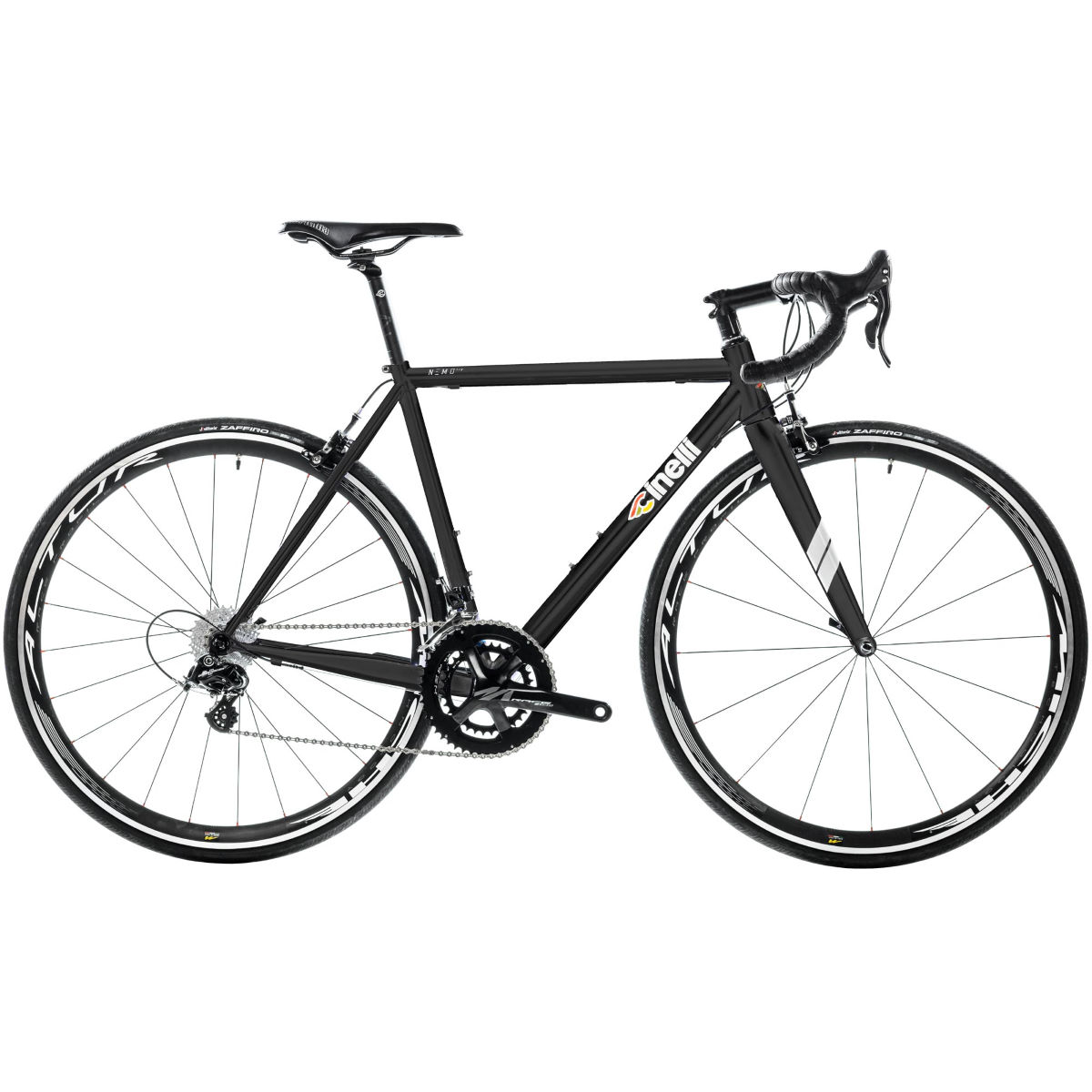 Vélo de route Cinelli Nemo Tig (Potenza, 2017) - XL Stock Bike Noir