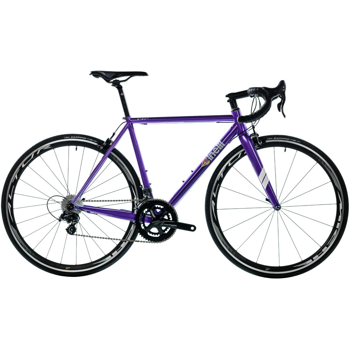 Vélo de route Cinelli Nemo Tig (Potenza, 2017) - XL Stock Bike Mauve