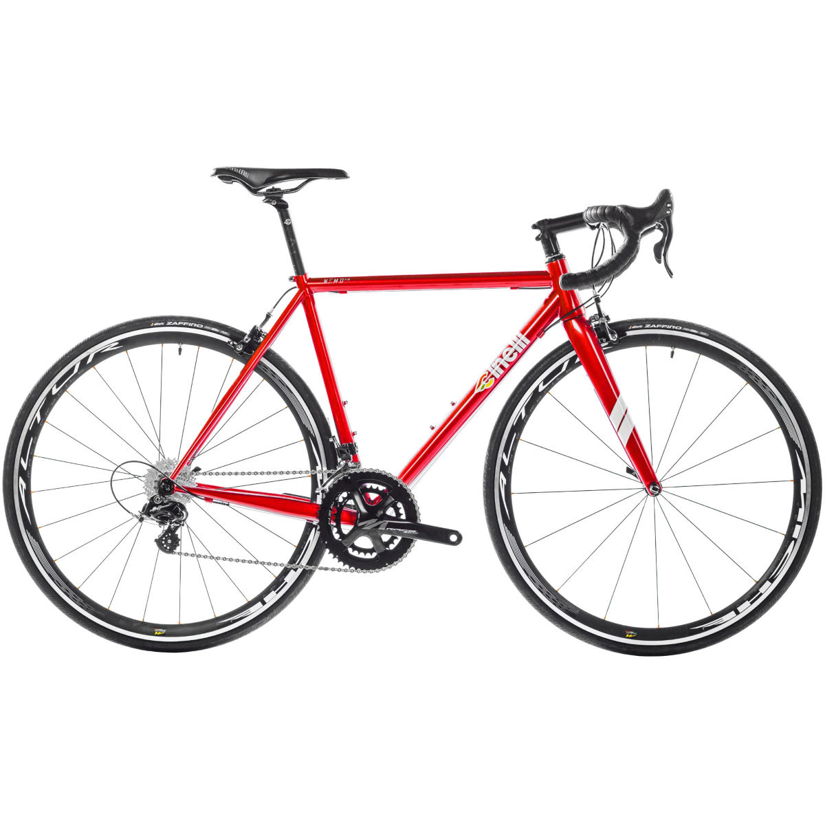 Vélo de route Cinelli Nemo Tig (Potenza, 2017) - L Stock Bike Rouge