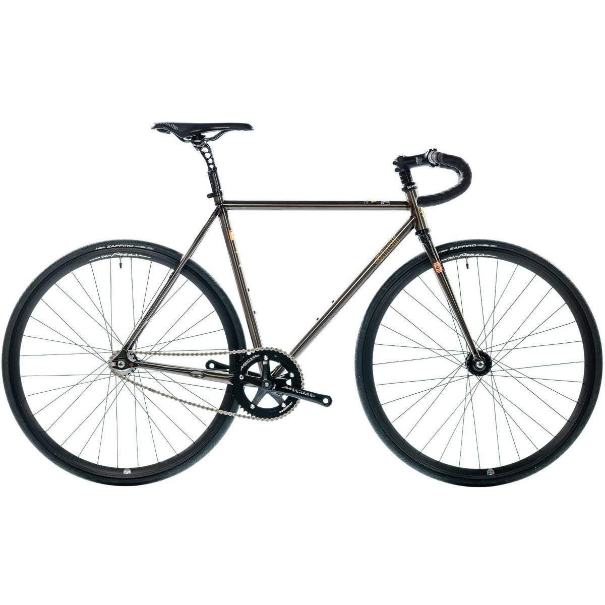 Vélo Cinelli MASH Works Single Speed (2017) - L Stock Bike Smoke Raw Single speed