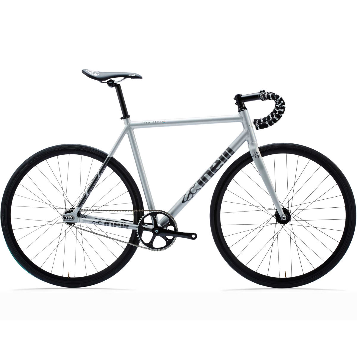Vélo single speed Cinelli Tipo Pista (2017) - XS Stock Bike Silver