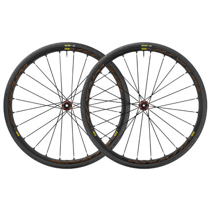 Paire de roues Mavic Ksyrium Elite Allroad (disque, WTS, Center Lock)