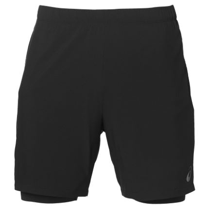 "Asics Race 2-n-1 7"" Short"